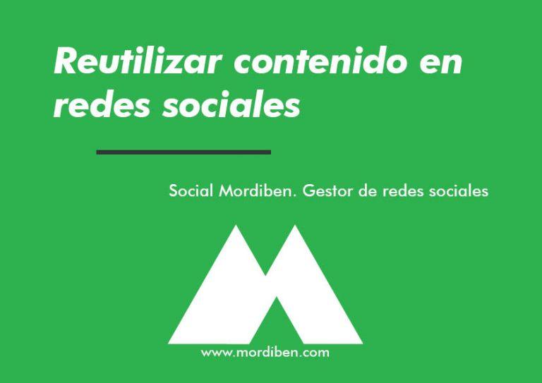 Reutilizar Contenido En Redes Sociales